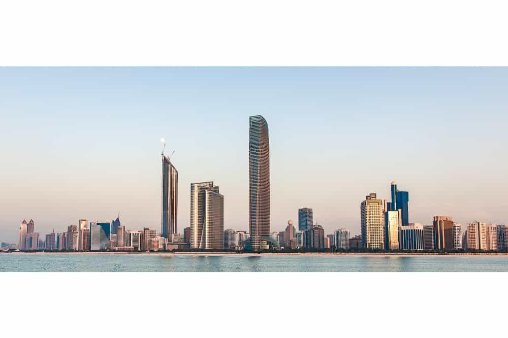 Corniche Skyline, Abu Dhabi, UAE