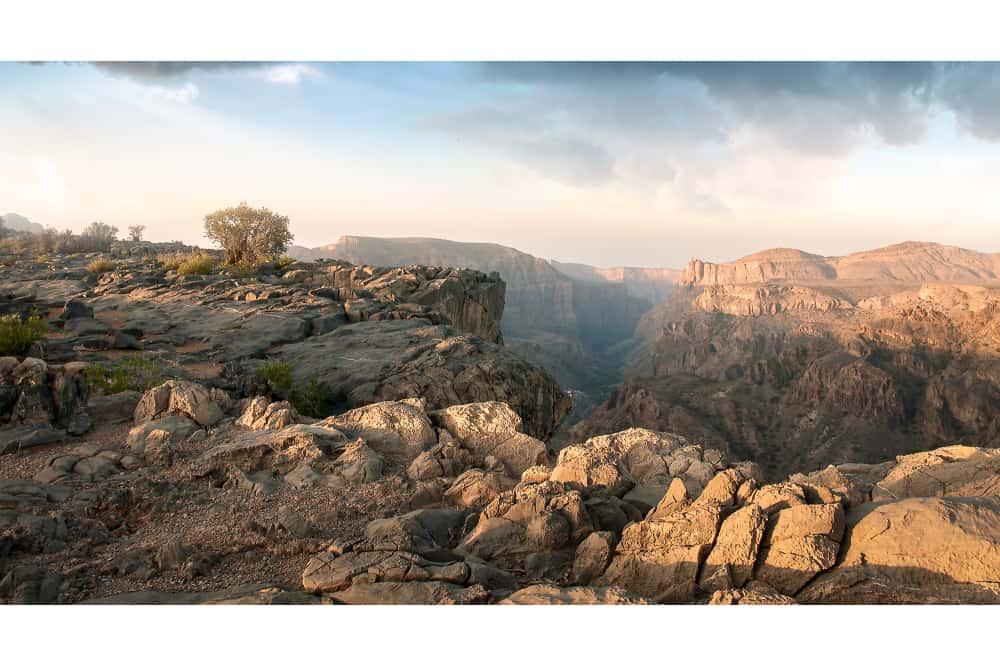 Diana's View - Sayq Plateau, Oman