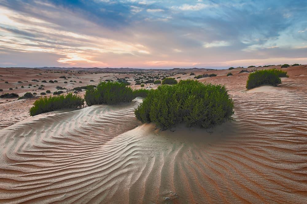 Sunset - Al Khazna, United Arab Emirates